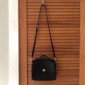 Classic vintage coach purse
